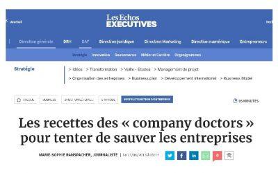 Recettes des «company doctors» pour sauver les entreprises
