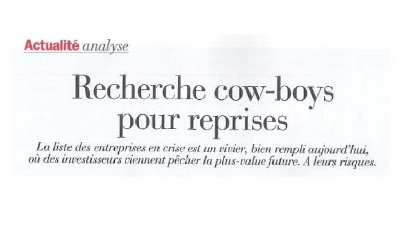 Recherche cow-boys pour reprises