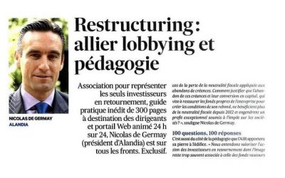 Restructuring : allier lobbying et pédagogie
