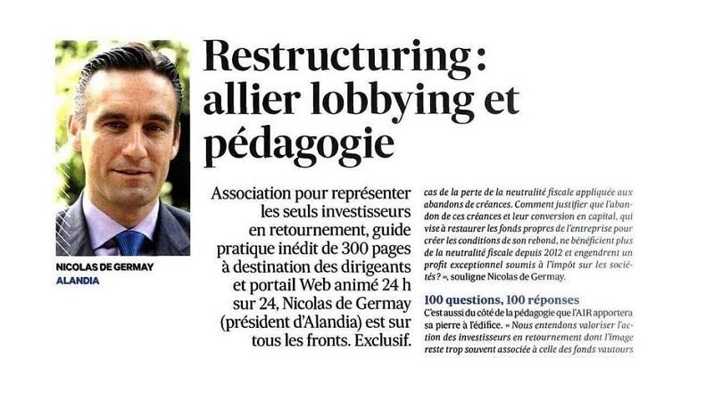 Restructuring : allier lobbying et pédagogie