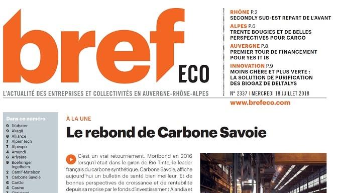 Le rebond de Carbone Savoie