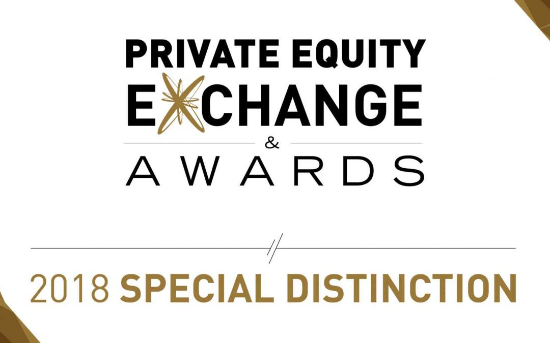 Alandia Industries reçoit un prix lors des Private Equity Exchange Awards 2018