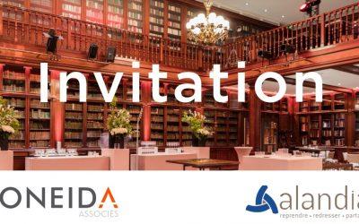 Conférence « Les cessions d'activités sous performantes, créatrices de valeur pour l'entreprise et l'emploi »