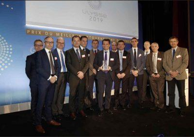 Prix Ulysse 2019 - Equipe de direction de Carbone Savoie