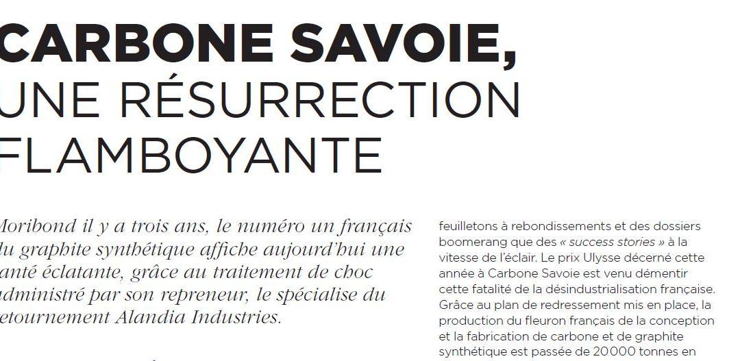 Nextstep publie un article sur la résurrection de Carbone Savoie